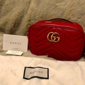 New Gucci GG Marmont Mini Camera Bag